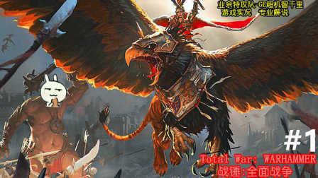 【战锤:全面战争】人类战役-惊人的逆转#1皇帝卡尔