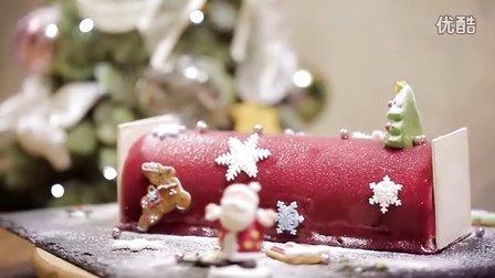 巴黎花妈( Ada's Kitchen ) -  红果柠檬奶酪慕斯劈材蛋糕