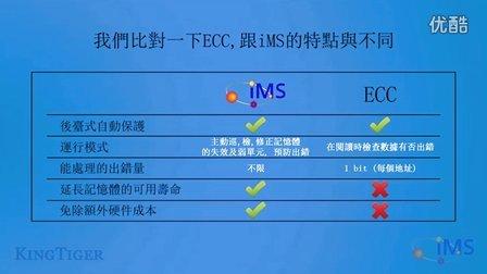 IMS 比較 ECC:內存記憶體糾正功能大比拼