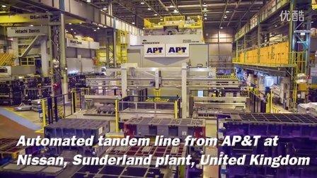在AP&T的支持下英国日产加快步伐