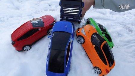 汽车玩具 汽车人 在雪的汽车 儿童玩具 我的世界  小儿科  变形金刚  汽车玩具