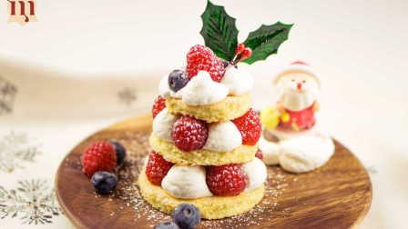 来下厨吧 第一季 酸甜可口的圣诞小红莓蛋糕塔 15