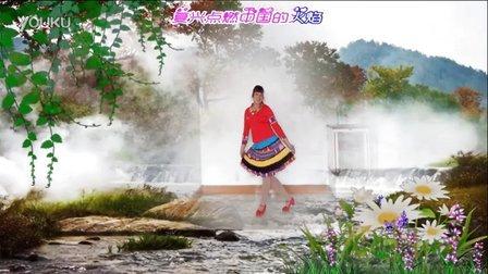 随风飘舞广场舞《复兴点燃中国的火焰》基督教舞蹈 原创 附分解