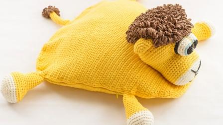 小狮子第3集卡通地垫嘉特汇编织小屋细线编织花样
