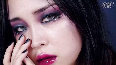 leesusu - 迷幻性感玩味烟熏妆彩妆妆容