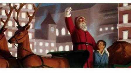圣诞节快乐!坐上《极地特快》:去北极寻找圣诞老人