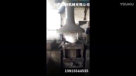 锅炉环保验收除尘器改造视频 除尘器集尘罩的使用安装方法简介