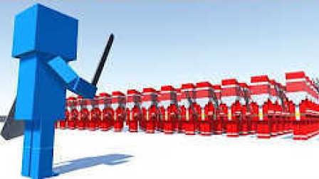 魔哒解说 方块战争模拟器 圣诞老爷爷大战蜡笔小新的大象 古代战争2