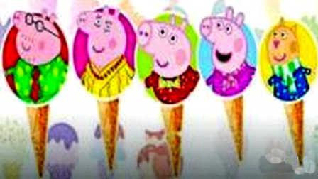小猪佩奇猪头棒棒糖 粉红猪小妹培乐多彩泥