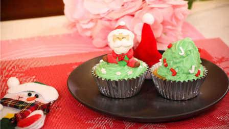 人人都能做的圣诞小蛋糕,超可爱