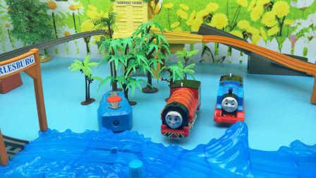 托马斯小火车 托马斯和他的朋友们 城堡寻宝