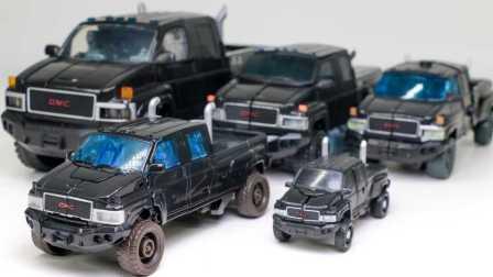 变形金刚之救援汽车人 第五个季度 变形玩具  Transformers 5 IRONHIDE 卤素 指挥官豪华GMC卡车 [迷你特工队之英雄的变形金刚]