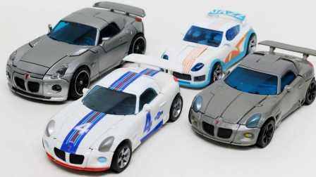 汽车人 博派 变形金刚Autobot豪华爵士乐人类联盟爵士4车变形 变形金刚之救援汽车人 玩具车
