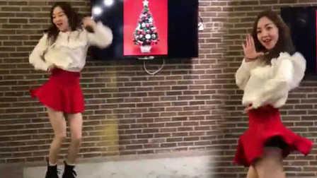 国内郑秀妍Fans圣诞热舞Jessica新歌
