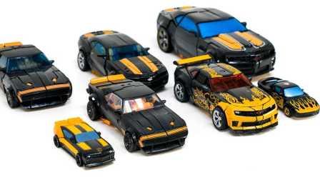 小汽车玩具游戏  大黄蜂