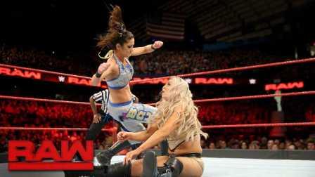 【RAW 12/26】女王比赛 自带裁判 不赢也难