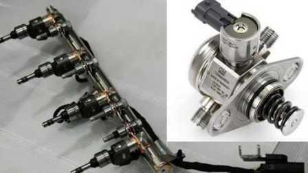 电喷发动机入门4-缸内直喷技术结构和工作原理