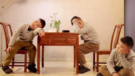 6岁男孩堪称围棋神童,用分身术下围棋