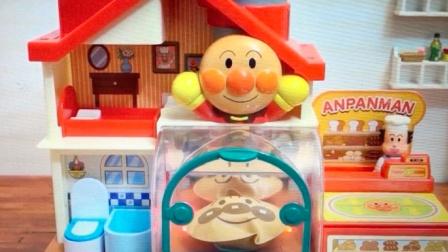 happy face 面包超人 2016 烤面包玩具 烤面包玩具