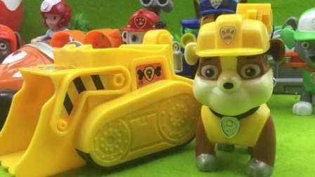 【汪汪队立大功玩具】工程车狗狗巡逻队员汪汪队立大功玩具 小猪佩奇