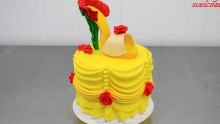 美食DIY 姜饼翻糖蛋糕