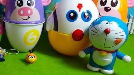 愤怒的小鸟迪尼士奇趣蛋 白雪公主拆惊喜蛋 企鹅家族 小熊维尼历险记