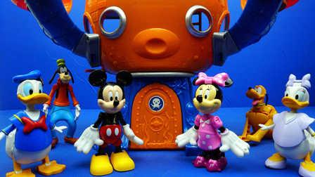 米奇妙妙屋 米奇和他的朋友们 捣蛋总动员