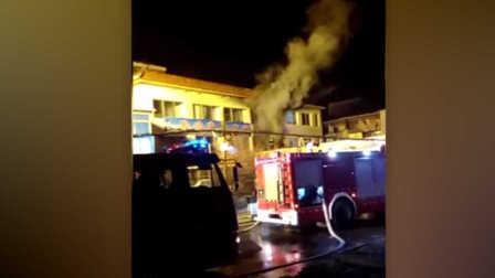 吉林省辉南县一养老院发生火灾 造成7人