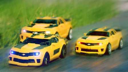 玩具车黄 变形金刚电影3 Dotm大黄蜂超大大黄蜂和硝基大黄蜂 Transformers Movie 3 Dotm Bumblebee TOY TOYS
