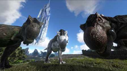 方舟生存进化无敌版 侏罗纪恐龙世界 模拟人生 第一期