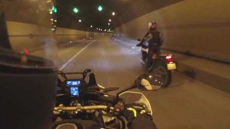「摸摸骑行记录」本田非洲双缸(CRF1000L)骑行雅西高速铁寨子-干海子双螺旋隧道_摸摸爱摩托