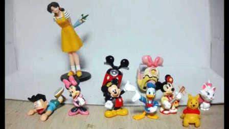 【模玩】TOMY 米老鼠 摩托车 唐老鸭 & 小熊维尼 & 机器猫 阿福 等 玩具 扭蛋 合金车 模型评测 多美卡 迪士尼