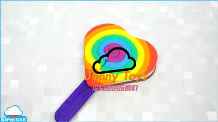 如何使 颜色播放培乐多彩泥心冰淇淋冰棍儿学习颜色 play doh 橡皮泥 美国玩具北美玩具小伶玩具韩国玩具 【 俊和他的玩具们 】