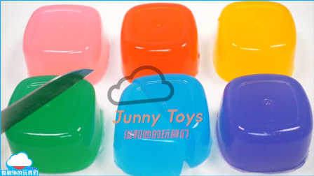 如何做 布丁做法 颜色立方体果冻胶粘和闪烁黏土软泥薄饼 果冻冰淇淋 布丁求 布丁蛋糕 美国玩具 【 俊和他的玩具们 】