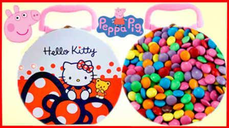 小猪佩奇的糖果奇趣礼盒惊喜玩具 09