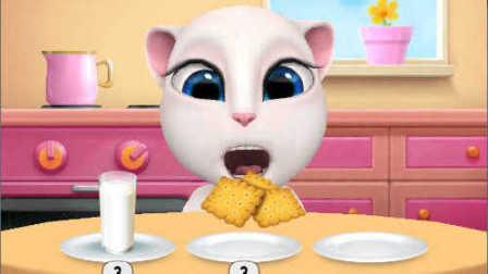 我的安吉拉 美美的小猫咪安吉拉 说话猫 汤姆猫 亲子游戏 儿童益智游戏