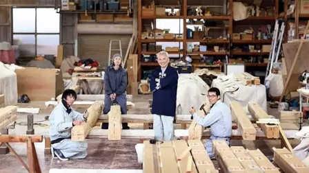 这么多伟大建筑 都是这个木匠在默默维护 07
