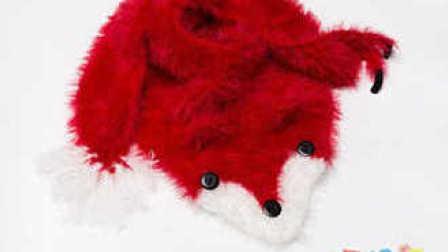 [198]巧织馆-狐步舞小狐狸围巾钩法图解视频教程07月13日更新