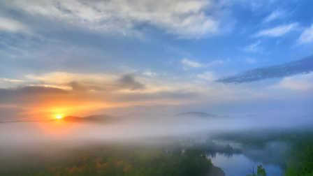 最美上海海上日出 06