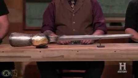 锻刀大赛 S03E11 印度帕塔(pata)长剑 生肉