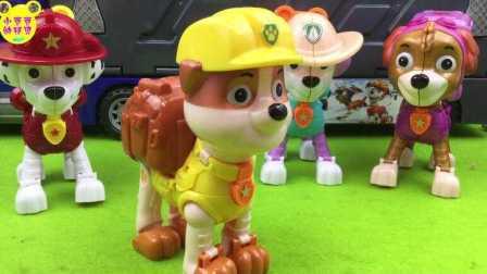 【汪汪队立大功玩具】工程师狗狗巡逻队员小力变形机器人汪汪队立大功玩具