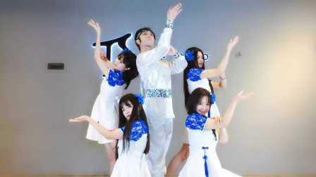 《青花瓷》中国风爵士舞蹈镜面分解教学【TS DANCE】
