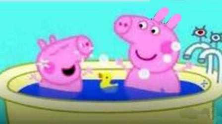 小猪佩奇猪猪侠洗澡 粉红猪小妹小女孩宝宝洗澡玩具