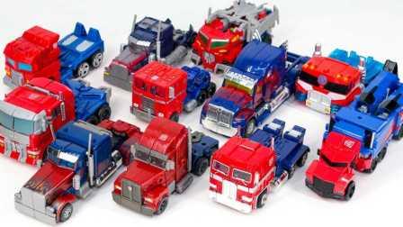 大卡车玩具变形金刚 新的卡通变形金刚组装玩具 擎天柱  我的世界变形金刚  Transformers Movie G1 Rid Prime