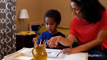 Babystep 彩色铅笔有大用处
