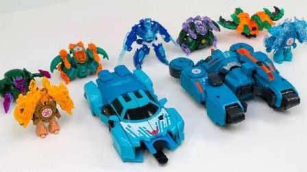 变形金刚 过载漂移和7迷你车辆机器人 机器人玩具 [迷你特工队之英雄的变形金刚]