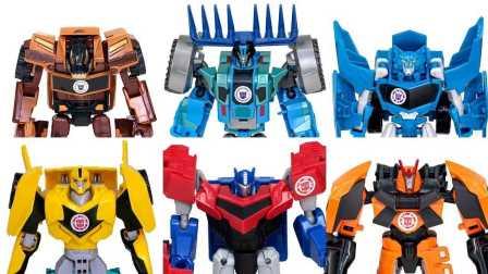 变形金刚擎天柱大黄蜂漂移钢钳雷蹄雷霆 Optimus Prime Bumblebee Drift Steeljaw Thunderhoof Quillfire