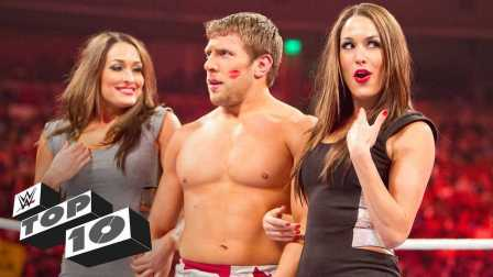 幸福来得太突然 WWE十大猝不及防的献吻