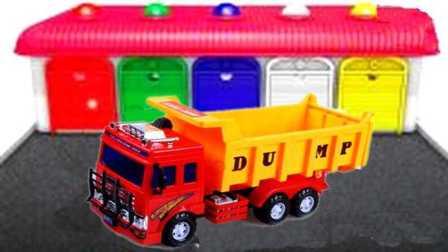 挖掘机警车消防车救护车工程车小火车货车卡车汽车总动员
