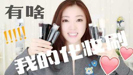 SylviaaAxuan  我的化妆刷大分享 My Brushes 入门必备 Sigma   ELF   Dior   IT
